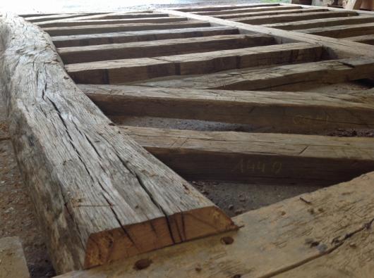 Charpente traditionnelle, ossature bois, agrandissement, pans de bois  Menui
